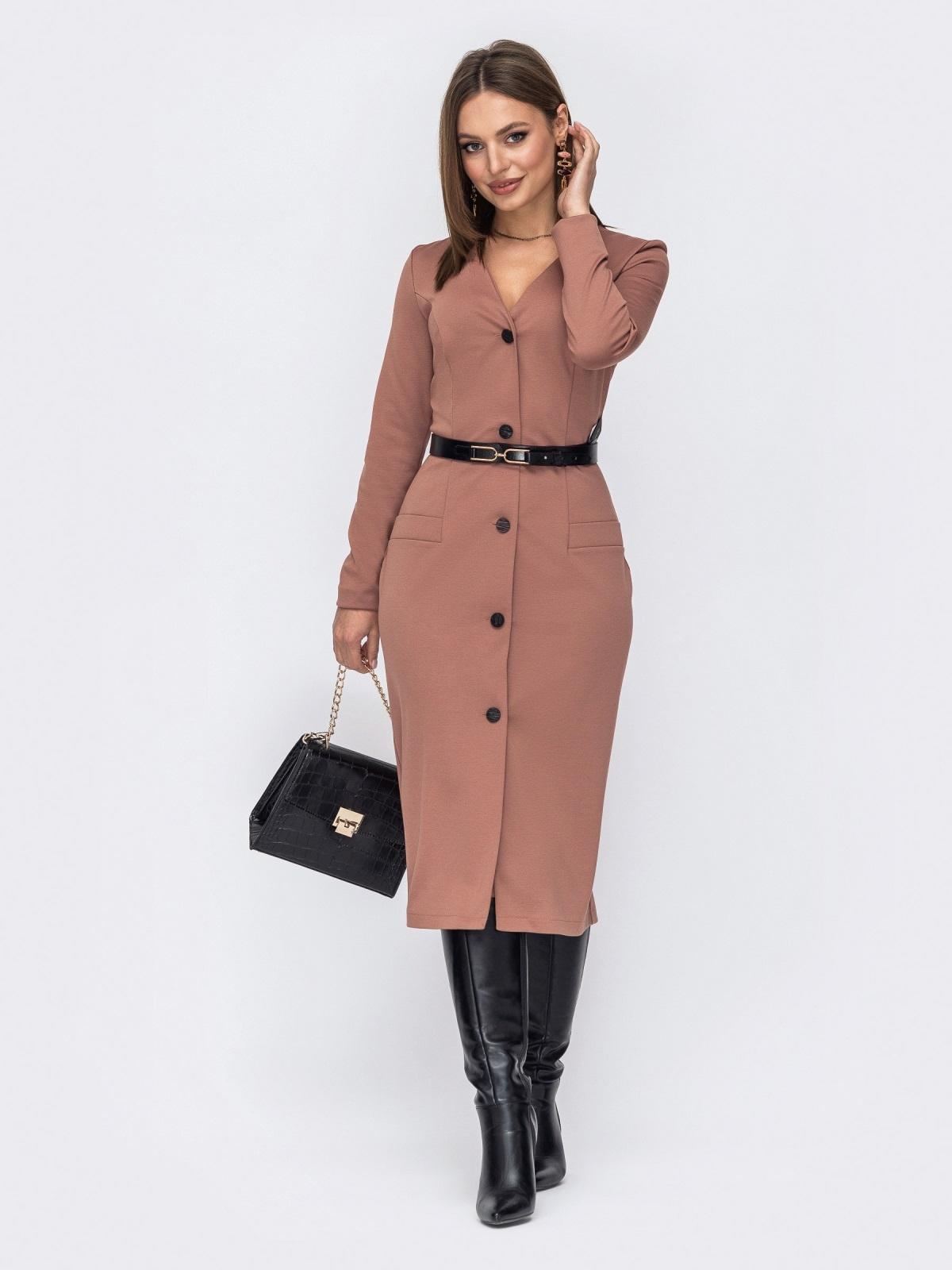 Купить длинные офисные платья в интернет-магазине Dressa