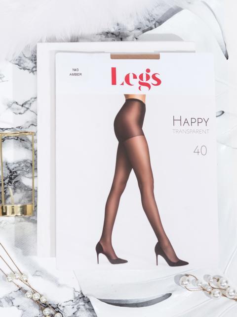 Бежевые колготки Legs с шортиками 40 den - 43562, фото 1 – интернет-магазин Dressa