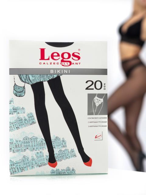 Колготки Legs Bikini 20 den Nero 43577, фото 1