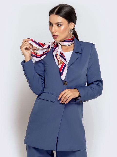 Сиреневый жакет с подкладкой и карманами - 40464, фото 1 – интернет-магазин Dressa