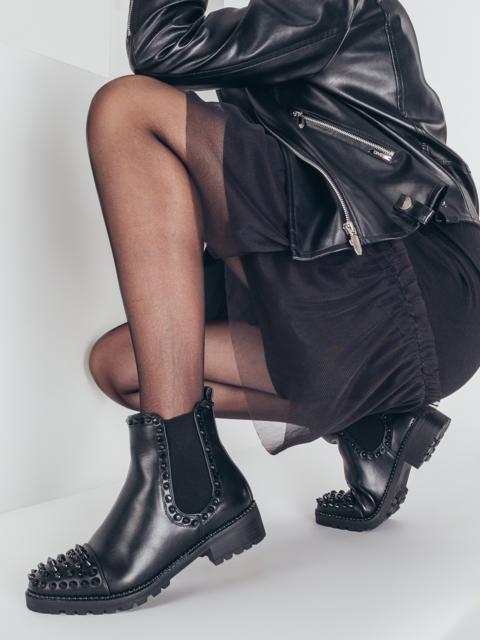 Демисезонные ботинки с шипами чёрные 51413, фото 1
