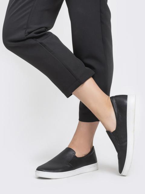 Чёрные мокасины из натуральной кожи - 41618, фото 1 – интернет-магазин Dressa