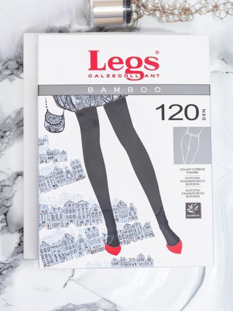Колготки Legs из бамбукового волокна 120 den Nero - 43598, фото 1 – интернет-магазин Dressa