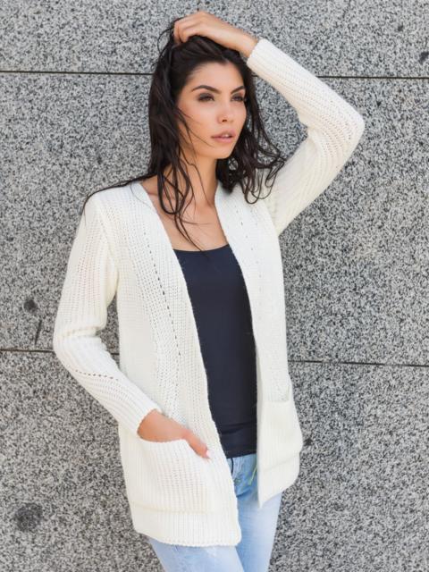 Кардиган с накладными карманами - 13135, фото 1 – интернет-магазин Dressa