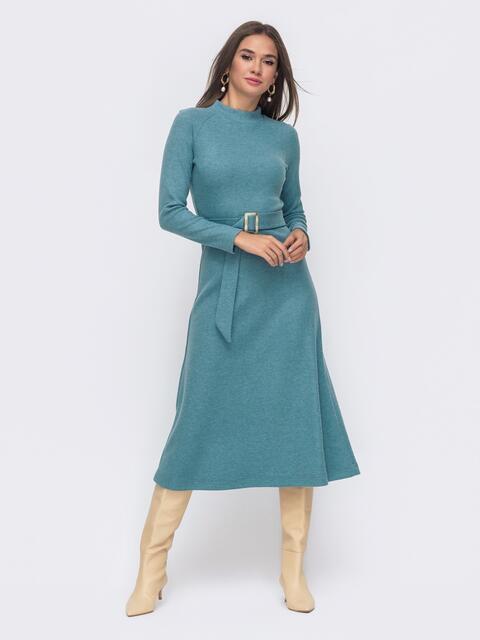 Голубое платье - dressa.com.ua