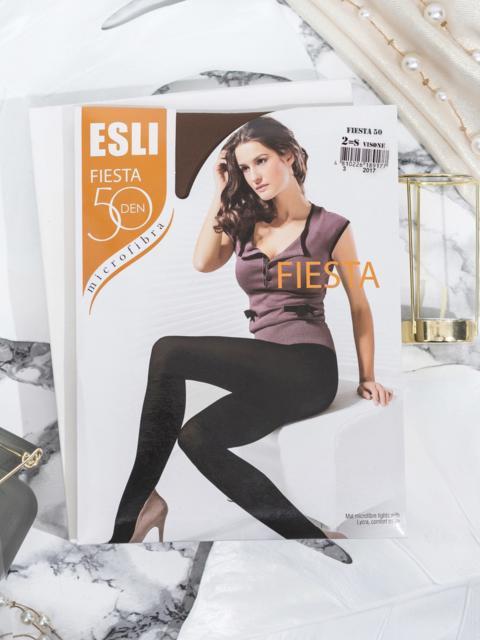 Бежевые колготки Esli Fiesta 50 den 43453, фото 1