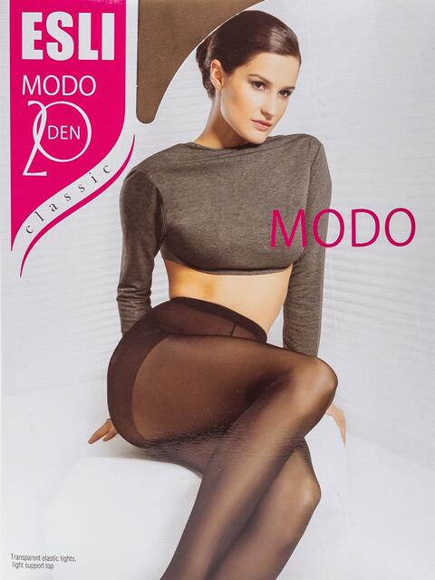 Бежевые колготки Esli Modo 20 den 43457, фото 1