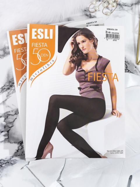 Серые колготки Esli Fiesta 50 den 43452, фото 1