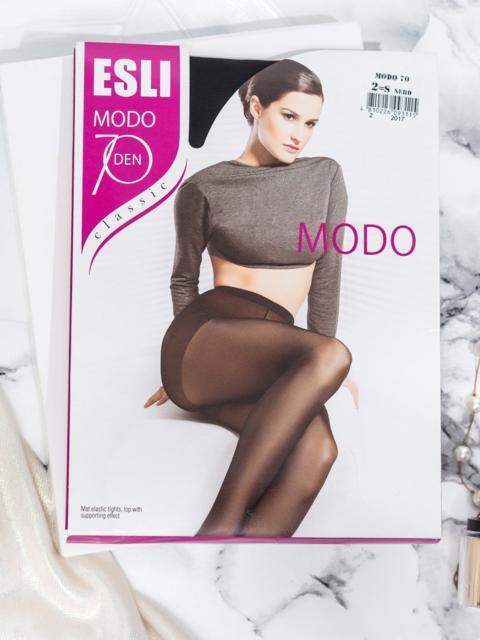 Колготки Esli Modo 70 den чёрные 43462, фото 1