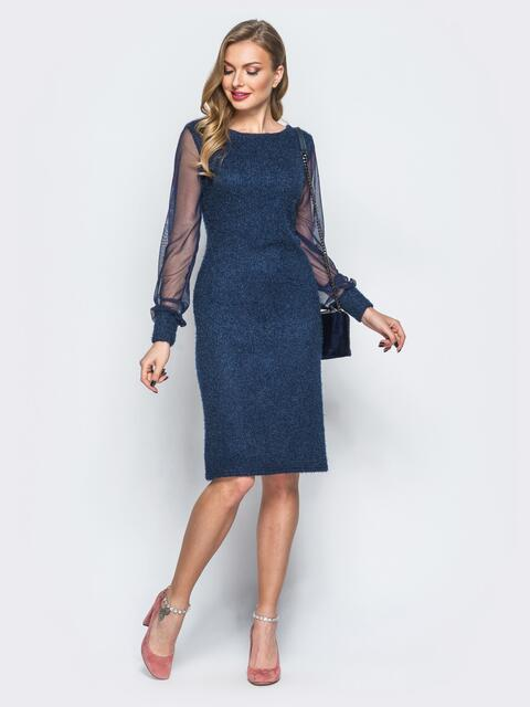 fcac6ee5eefe465 Платье из трикотажа