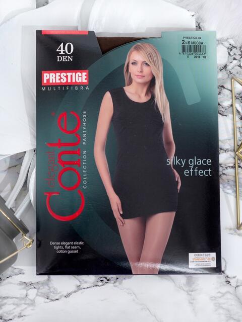 Коричневые колготки Prestige 40 den 43521, фото 1