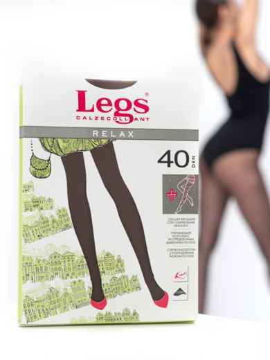 Колготки Legs Relax 40 Den Tabaco 43582, фото 1