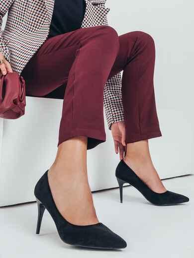 Туфли черного цвета на шпильке 50497, фото 1
