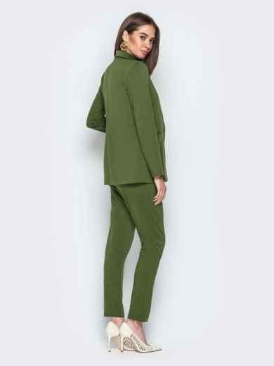Комплект с брюками на резинке хаки - 20839, фото 3 – интернет-магазин Dressa