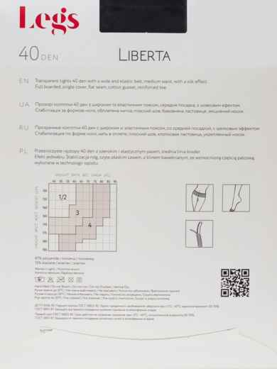 Колготки Liberta 40 Den Nero 43575, фото 2