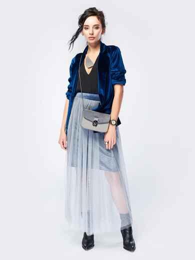 Юбка макси из джерси с подкладкой - 17520, фото 1 – интернет-магазин Dressa