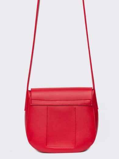 Сумка на плечо красного цвета - 22104, фото 3 – интернет-магазин Dressa