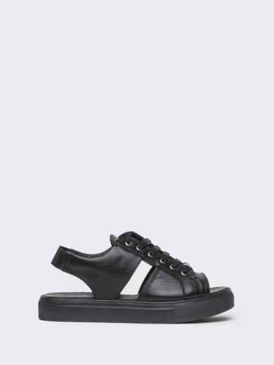 Спортивные сандалии чёрного цвета - 21419, фото 4 – интернет-магазин Dressa