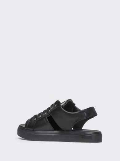 Спортивные сандалии чёрного цвета - 21419, фото 5 – интернет-магазин Dressa