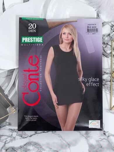 Бежевые колготки Prestige 20 den 43490, фото 1