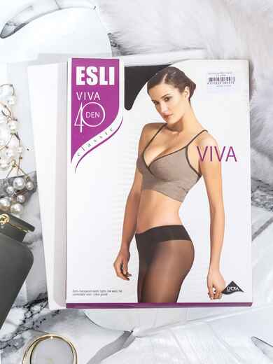 Колготки Conte Esli Viva 40 den серые 43472, фото 1