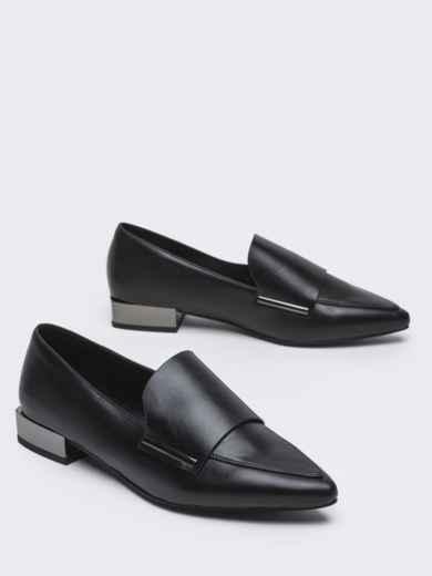 Туфли на низком ходу с узким носком 50591, фото 3