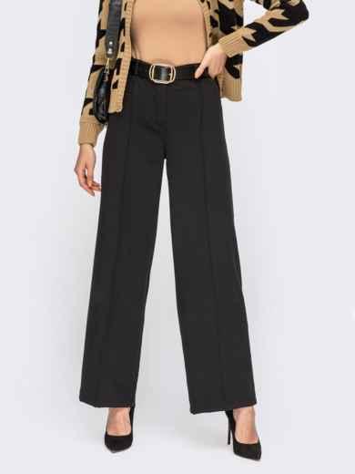 Классические черные брюки со стрелками 54639, фото 1