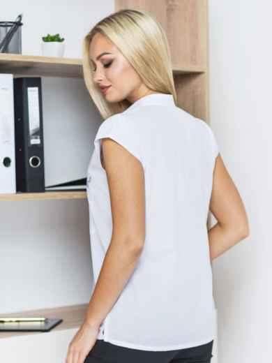 Блузка с рукавом-крылышко и карманом - 14135, фото 3 – интернет-магазин Dressa
