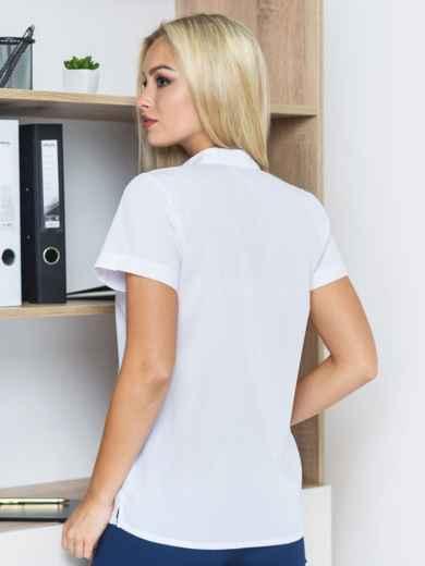 """Блузка с v-образным вырезом и принтом """"одуванчик"""" - 14139, фото 2 – интернет-магазин Dressa"""