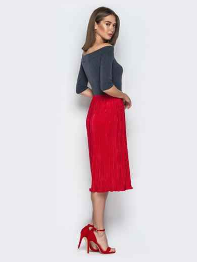 92b5b1cb537 Красное платье с вырезом горловины