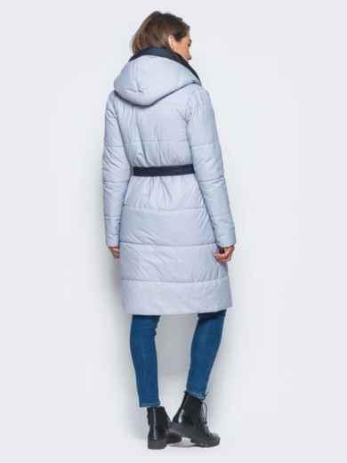 Двухсторонняя куртка с поясом в комплекте - 16737, фото 3 – интернет-магазин Dressa