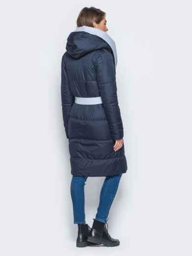 Двухсторонняя куртка с поясом в комплекте - 16737, фото 6 – интернет-магазин Dressa