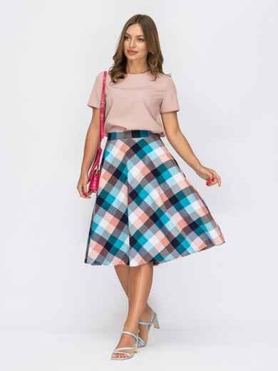 Комплект из юбки и блузки пудрового цвета 53911, фото 1