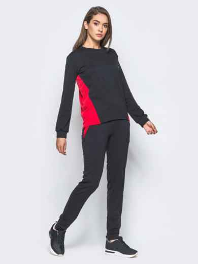 Спортивный костюм с функциональной молнией на спинке - 16525, фото 2 – интернет-магазин Dressa