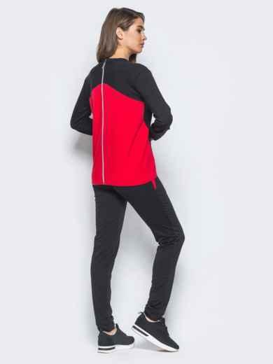 Спортивный костюм с функциональной молнией на спинке - 16525, фото 3 – интернет-магазин Dressa