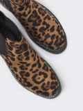 Демисезонные ботинки из искусственной замши с леопардовым принтом 51392, фото 2
