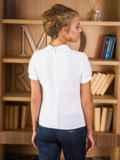 Блузка с украшением на горловине 13900, фото 2