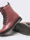 Зимние ботинки из эко-кожи розового цвета 51380, фото 4