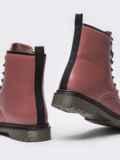 Зимние ботинки из эко-кожи розового цвета 51380, фото 6