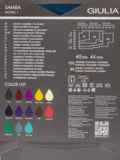 Матовые колготки из микрофибры 40 den тёмно-синие 43546, фото 2