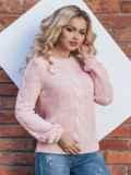 Розовый джемпер с длинным рукавом реглан 15800, фото 2