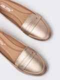 Бежевые балетки из эко-кожи 51428, фото 2