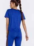 Синяя футболка из спортивного трикотажа 44453, фото 3
