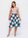 Комплект из юбки и блузки пудрового цвета 53911, фото 2