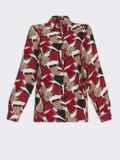 Рубашка из выскозы с принтом красного цвета 53080, фото 5